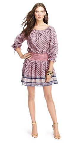 Juicy Couture Smocked Starseed Blossom Dress