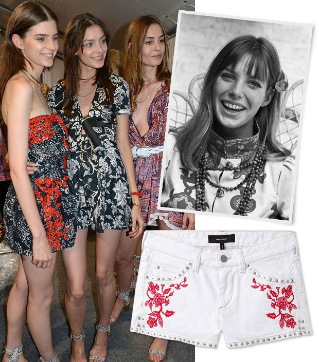 See What Inspired Isabel Marant's S/S 13 Collection