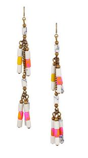 Isabel Marant Howlite Beaded Earrings