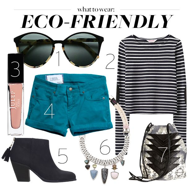 Get Green With This Completely Sustainable Outfit