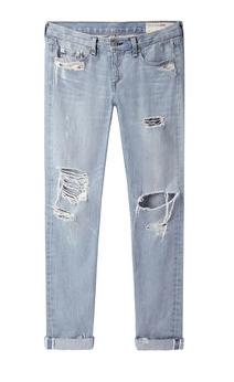 Rag & Bone Jean Distressed Boyfriend Jeans