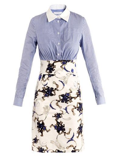 Altuzarra  Bell Banker Printed Dress