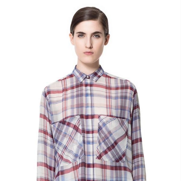 Zara  Checked Shirt