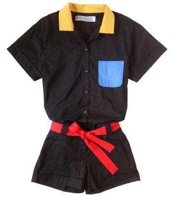 Friends & Associates Ava Belted Jumpsuit