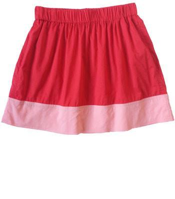 Friends & Associates Alla Border Skirt