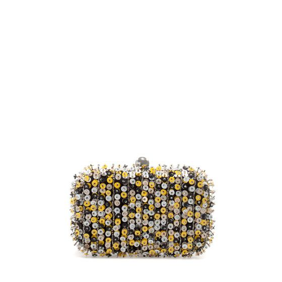 Zara  Coloured Sequined Evening Bag