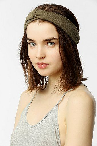 Urban Outfitters Jersey Turban Headwrap