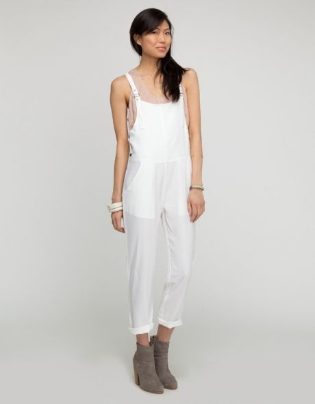Need Supply Co. White Box Overalls
