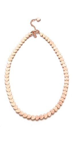 Tuleste Market Heart Chain Necklace
