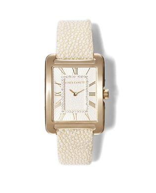 Vince Camuto Genuine Stingray Rectangle Watch