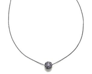 Capwell & Co. Capwell & Co. Delicate Pave Sphere Pendant Necklace