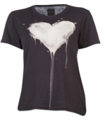 Real Eyes Realise Dripping Heart Boyfriend T-Shirt