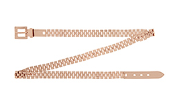 Reiss Enzo Metal Chain Link Belt