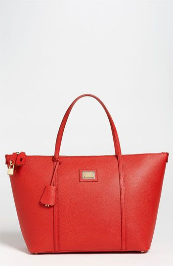 Dolce & Gabbana Miss Escape Classic Leather Tote