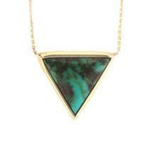 Mociun  Mociun Large Triangle Necklace
