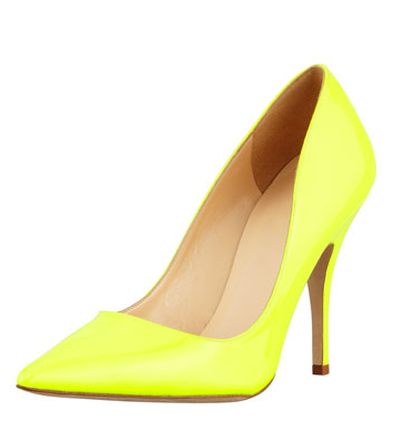Kate Spade New York Licorice Patent Pointed-Toe Pumps