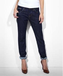 Levi Strauss  Levi Strauss Selvedge Boyfriend Skinny Jeans