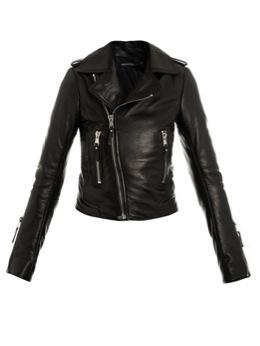 Balenciaga  Classic Leather Biker Jacket