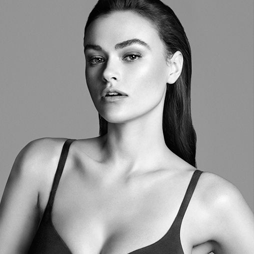 See the Gorgeous Size-10 Model Some People Are Calling Plus-Size