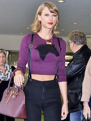 Is Taylor Swift Making Suspenders Cool Again?