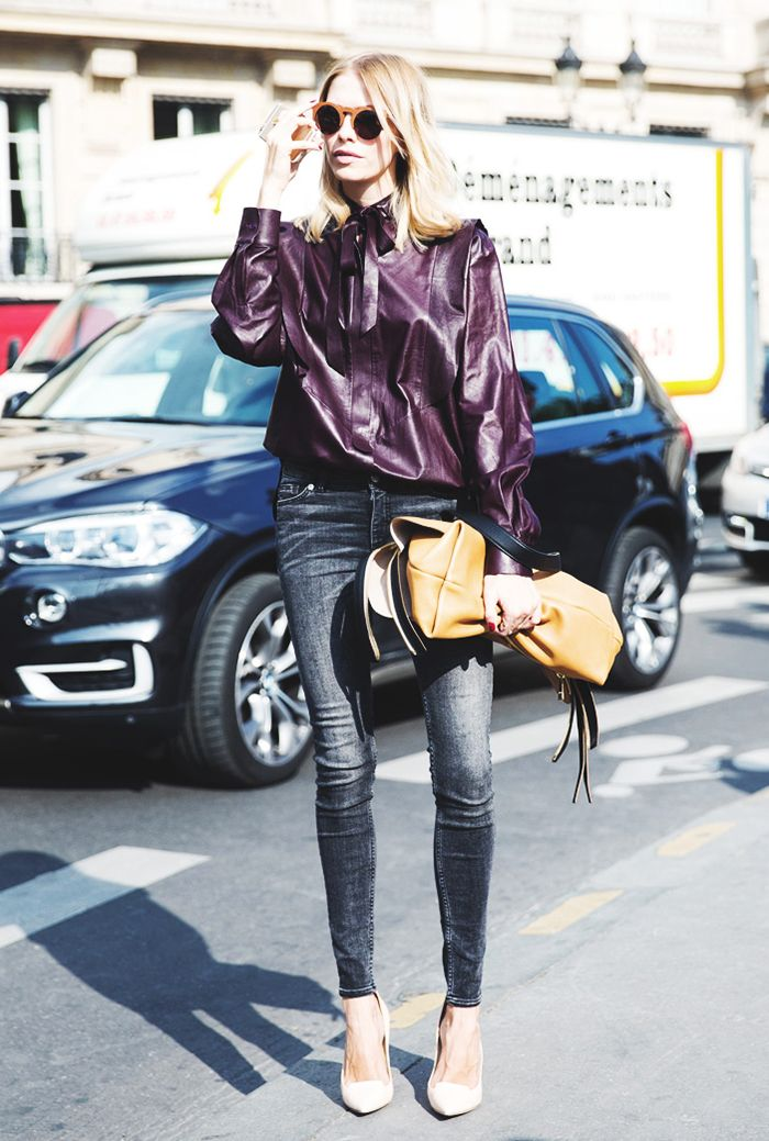 56c029e5121 Hate Holiday Dresses  How to Dress Up Your Jeans for Party Season ...
