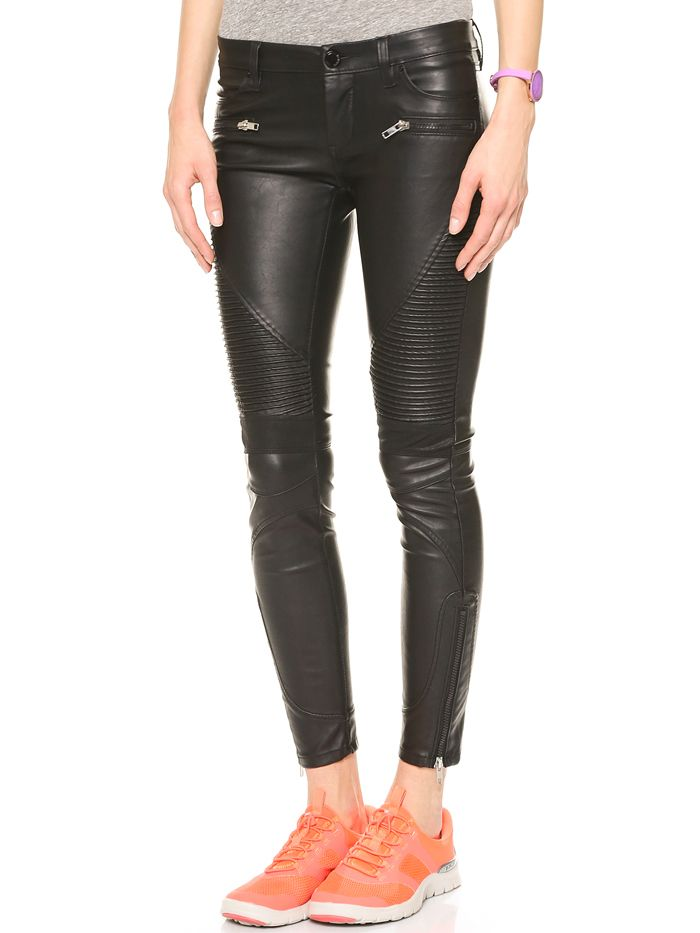 11 Leather Pants That Will Go With Everything in Your Closet