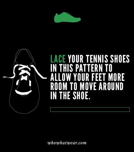 Shoe Lace Life Hacks
