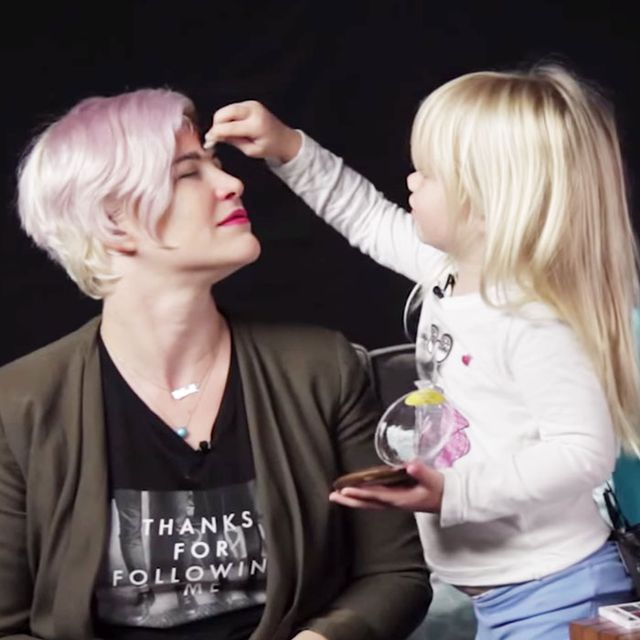 Watch These Kids Do Their Mums' Makeup and Try Not to Smile