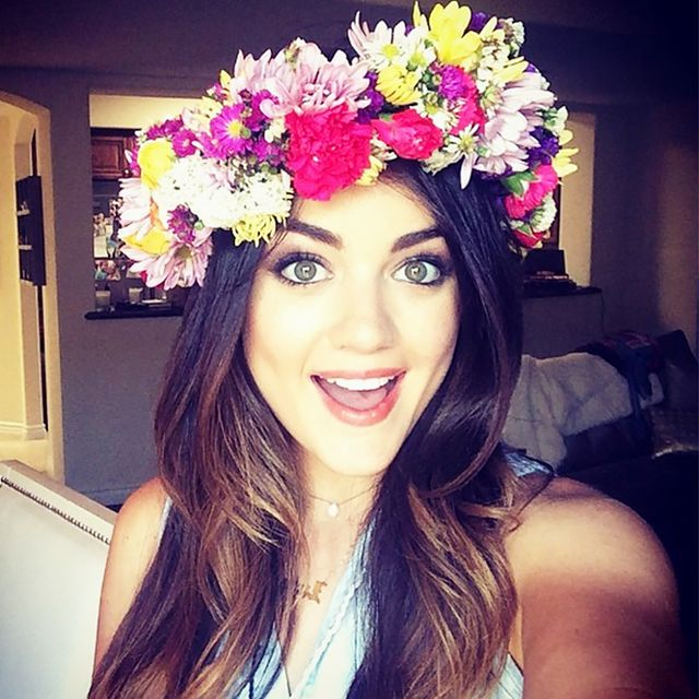 Exclusive: Lucy Hale Talks Her First Beauty Memory, Makeup Purchase, and More