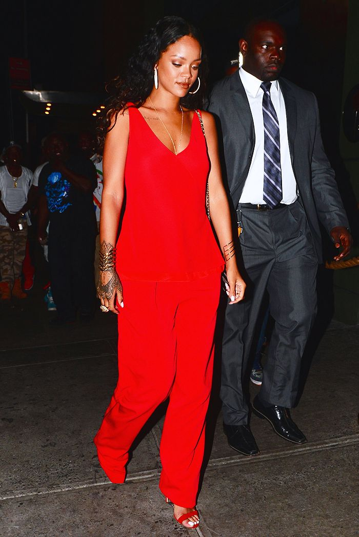 6eae85462c010 See the Shoes Rihanna Wears With EVERY Outfit | Who What Wear