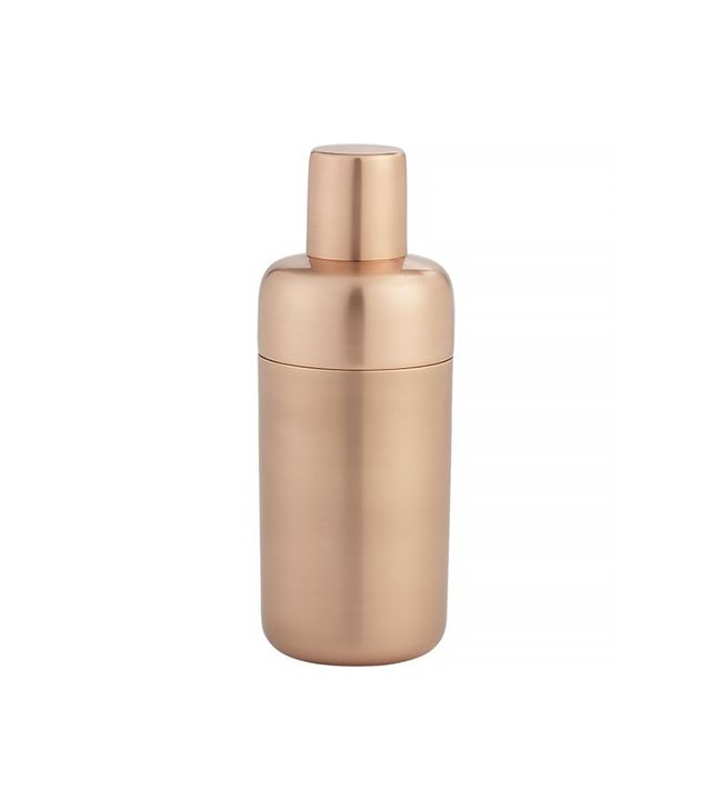 Crate and Barrel Orb Copper Shaker
