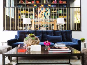 Home Tour: A Colourful Modern House in NorCal