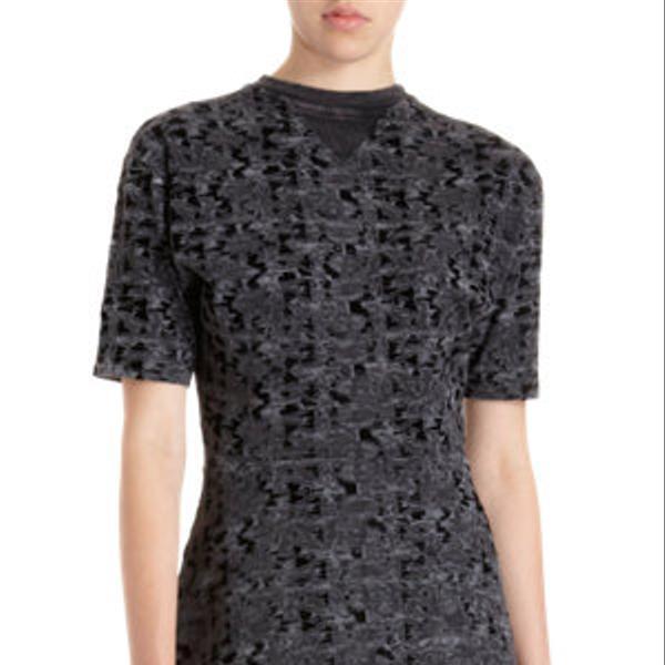 Theyskens' Theory  Iknife Print Dress