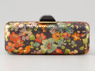 Overture Judith Leiber Jessica Floral Sequined Minaudiere
