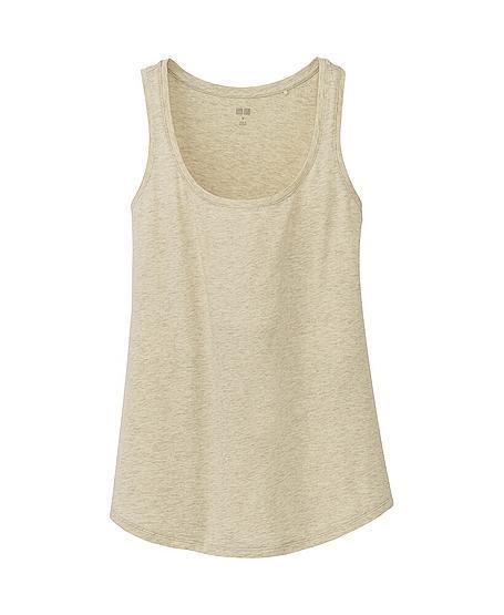 Uniqlo Premium Cotton Washed Tank Top