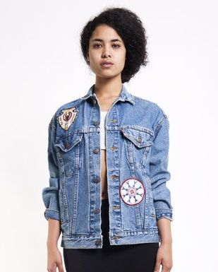 Denim Refinery  The Indian Patched Levi's Jacket