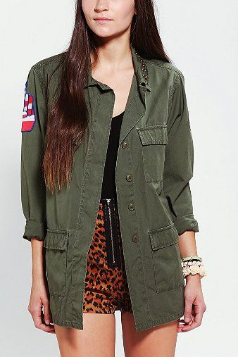 Kill City  Military Patch Surplus Jacket