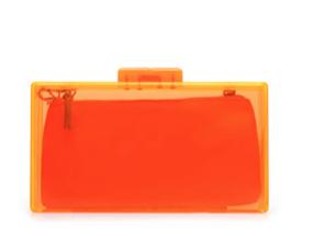 Zara Coloured Methacrylate Box Bag
