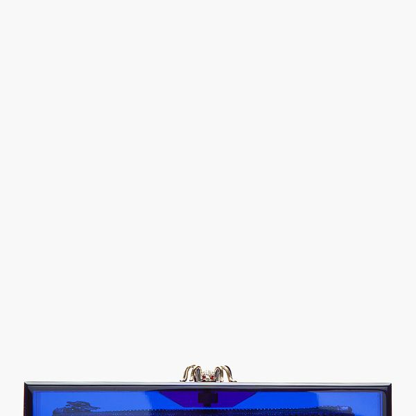 Charlotte Olympia Perspex Spide-Clasp Pandora Box Clutch