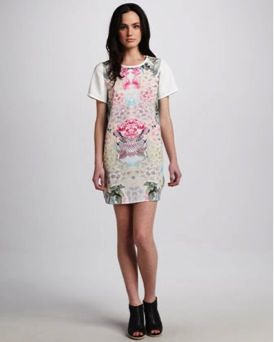 Finders Keepers  You Sent Me Garden-Print Dress