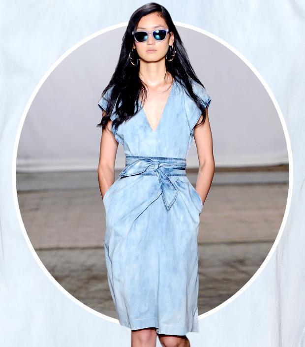 Your Best Bet For Spring? A Versatile Denim Dress