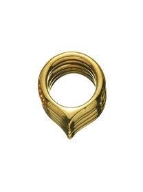 Jennifer Fisher Jennifer Fisher Brass Five Jagged Peak Ring