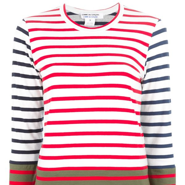 Comme des Garcons Striped Long Sleeve T-Shirt