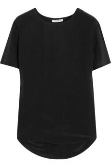 Equipment Riley Washed-Silk T-Shirt