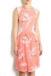 Tabitha Webb  Exclusive Fashion Targets Breast Cancer Summer Blossom Dress