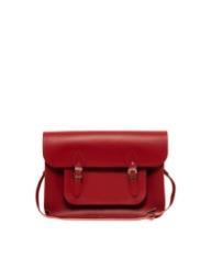 Cambridge Satchel Company  Red Leather Satchel