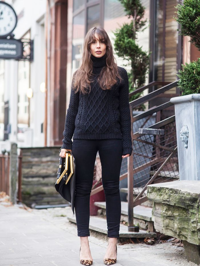 14 Creative New Ways To Wear Your Sweaters Who What Wear