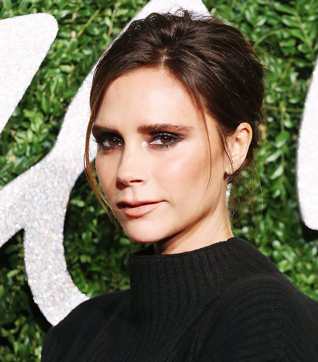 How to Pull Off a Straight-Across Brow Like Victoria Beckham