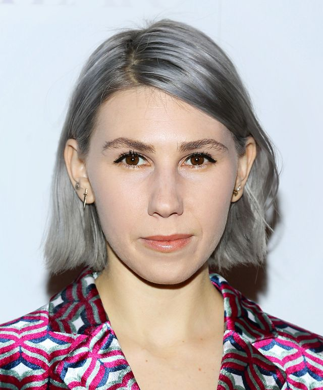 Zosia Mamet Goes Grey (On Purpose)—And We Love It