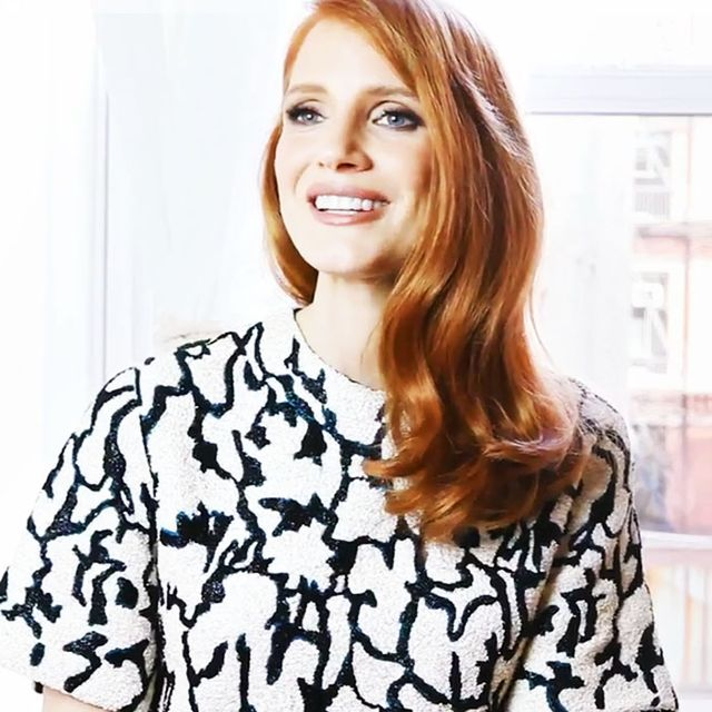 Jessica Chastain Shares Her Favourite Skin DIYs and More!
